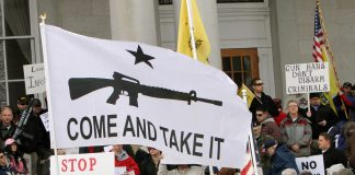 Image result for virginia gun rights come and take it sign